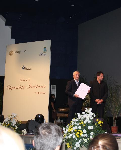 Premio Ospitalita´ italiana Oi Mari´