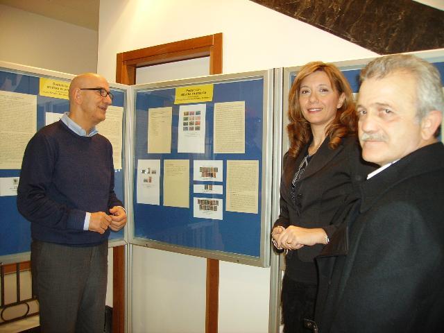 Salvatore Adduce con Maria Gallo e Paolo Paladino