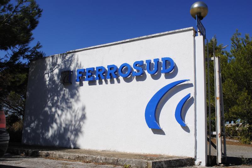 Stabilimento della Ferrosud SpA (foto SassiLand)