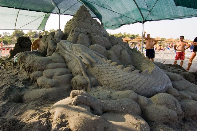 Taro e gli oni - Meraviglie di Sabbia, edizione 2010