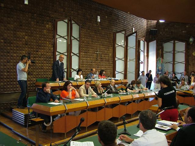 Consiglio comunale (foto Martemix)