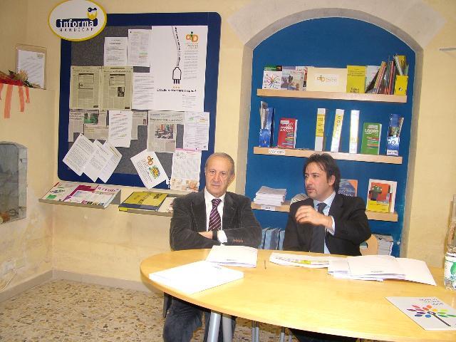 Un momento della conferenza stampa (foto martemix)