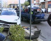 Grave incidente tra auto e motocarro in via San Pardo (foto martemix)