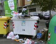 Rifiuti a Matera - zona San Pardo