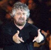 Beppe Grillo in piazza  - Matera
