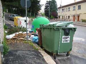 CASAPOUND ITALIA CONTRO I RIFIUTI DI POTENZA A MATERA