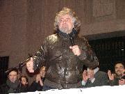 Grillo infiamma la piazza - Matera