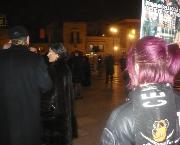 Azione di protesta Anti-Pellicce contro il ripetuto massacro degli animali