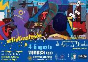 Artistinstrada 2010 - manifesto 2010 - Matera