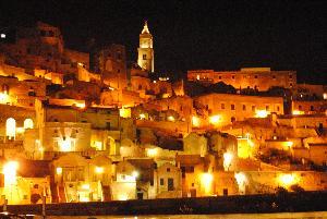 Atmosfera natalizia nei Sassi di Matera (foto SassiLand) - Matera