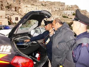 Carabinieri - alcol test - Matera