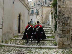 Carabinieri nei Sassi di Matera - Matera