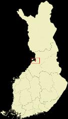 Cartina della Finlandia - Matera