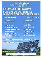 """""""Energia alternativa, sviluppo sostenibile, burocrazia insostenibile - Matera"""