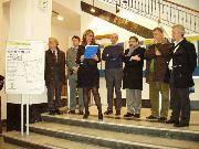 Inaugurazione mostra filatelica presso le Poste Italiane