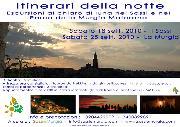 Locandina itinerari della notte del 18 e 25 settembre 2010 - Matera