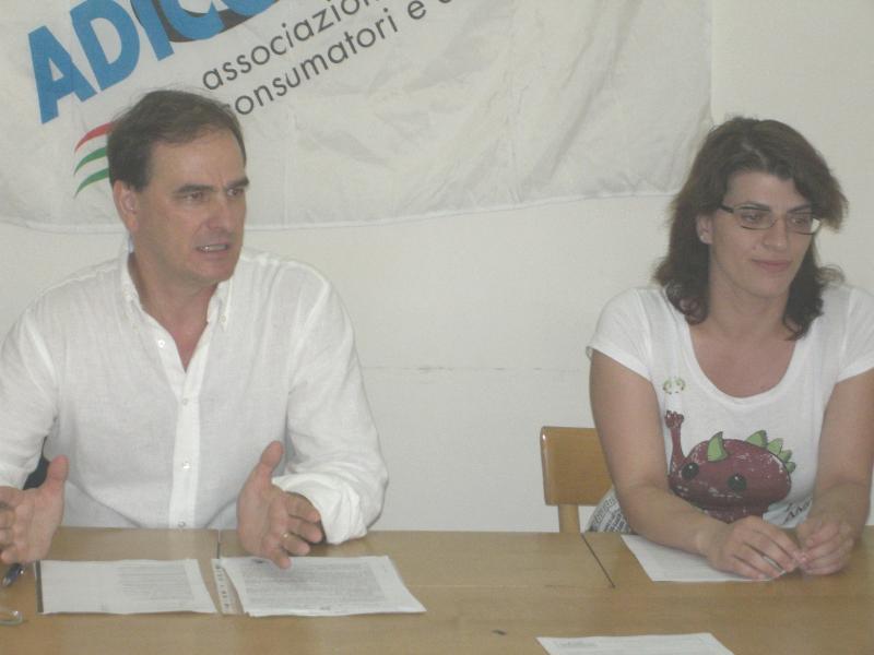 Adiconsum: Giuseppe Tedesco e Marina Festa