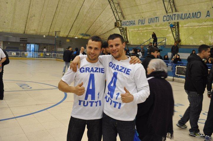 Dalla sinistra Jonathan Cellura e Pietro Papapietro