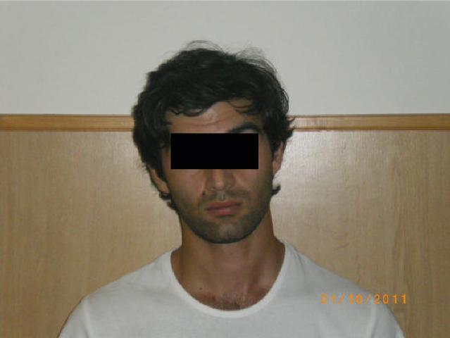 Arresto di DZADZAMIA Tengiz per furto in appartamento