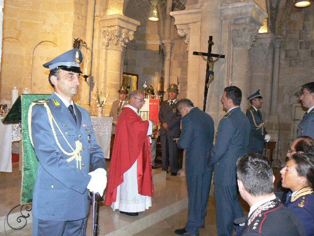 CELEBRAZIONE DELLA FESTA DI S. MATTEO, PATRONO DELLA GUARDIA DI FINANZA - 21 settembre 2011