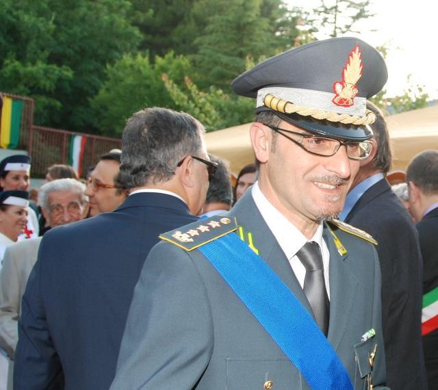 Colonnello Elia Carmelo PALLARIA - Guardia di Finanza - Matera