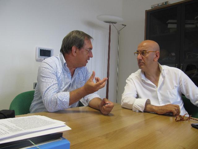 Commissario Altobello e Salvatore Adduce