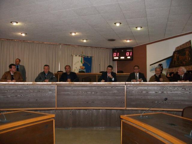 Conferenza stampa al Comune di Policoro