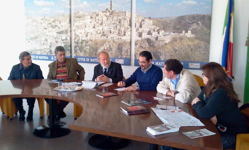 conferenza stampa di presentazione del primo concorso nazionale di corti teatrali Ritagli Atti - 24 marzo 2011