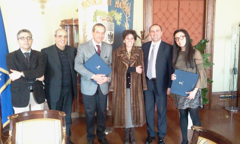 Console onorario del Portogallo in Provincia - 10 marzo 2011