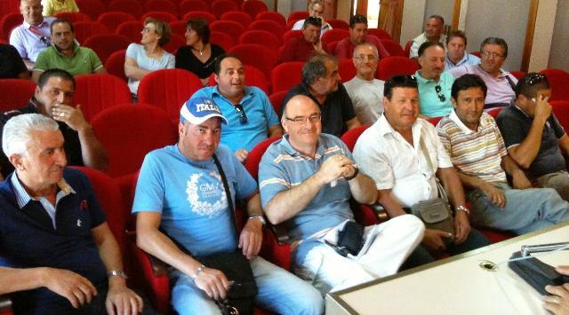 Consorzio di Bradano e Metaponto - lavoratori in assemblea