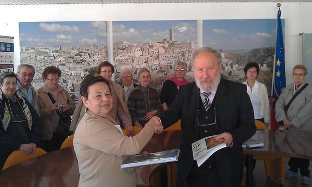 Delegazione di Vigevano a Matera