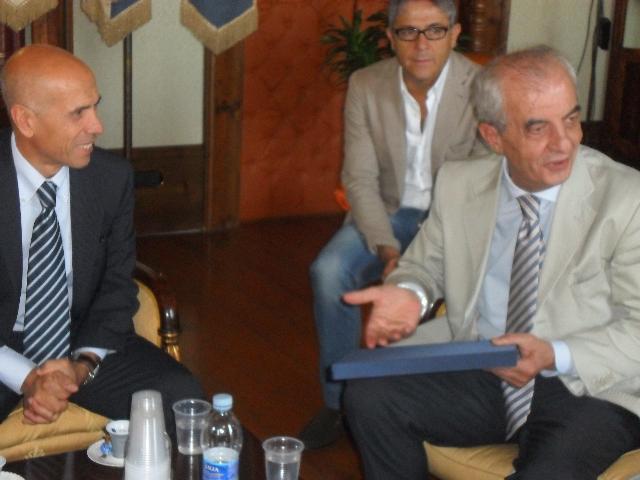 Eugenio Barisano e Franco Stella