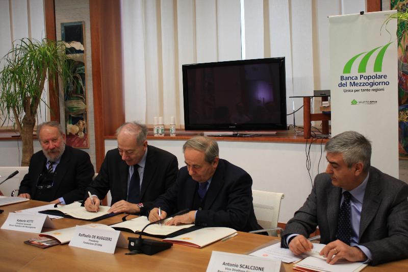 Firma del protocollo d´intesa tra BPMezz e Fondazione Zetema - 24 febbraio 2011