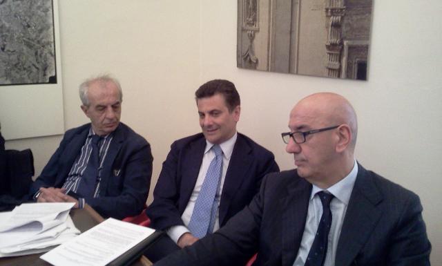 Franco Stella, Vito De Filippo, Salvatore Adduce