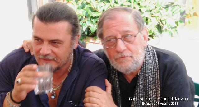 Gaetano Russo e il produttore Donald Ranvaud