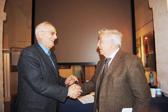 Giorgio Corazza e Franco Palumbo