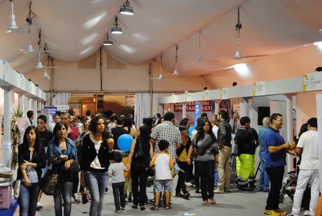 Gli stand di Matera è Fiera 2011