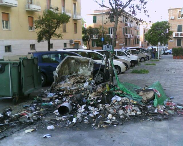 I bidoni Bruciati (foto Martemix)