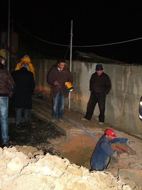 i lavori in corso a Recinto Rota (foto Martemix)