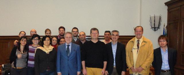 Ideazione Culturale, il gruppo col Console Luciano Barillaro