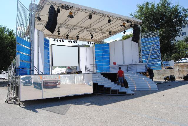 Il palco di Matera è Fiera 2011