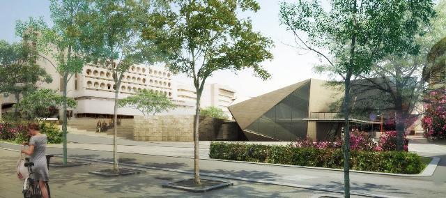 il progetto di Llavador per piazza della Visitazione