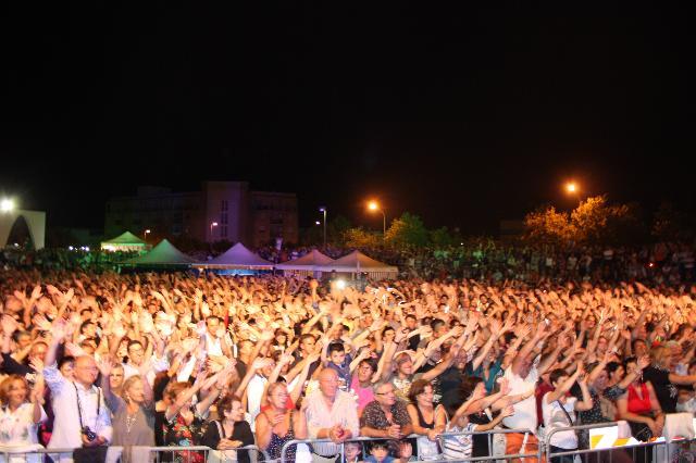 Il pubblico del Blues in Town 2011