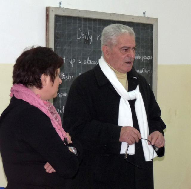 Il Sindaco di Pisticci inaugura scuola a Pisticci