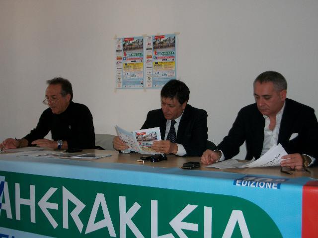 Il sindaco di Policoro alla presentazione di StraHerakleia 2011