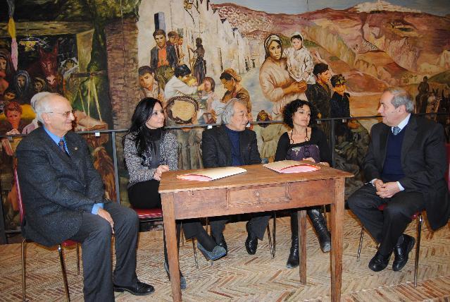 Incontro Sala Levi con Azuma - 24 febbraio 2011