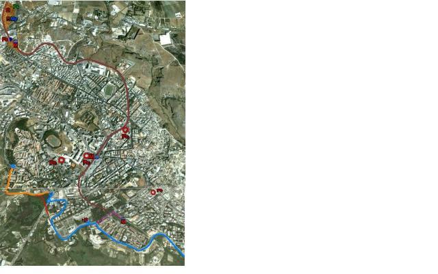 Ipotesi di gestione della mobilità per Piazza della Visitazione