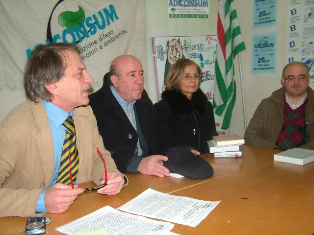 Conferenza Adiconsum (foto Martemix) - 8 gennaio 2011