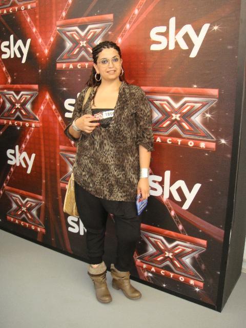 La materana Carla Volpe ai provini di X-Factor