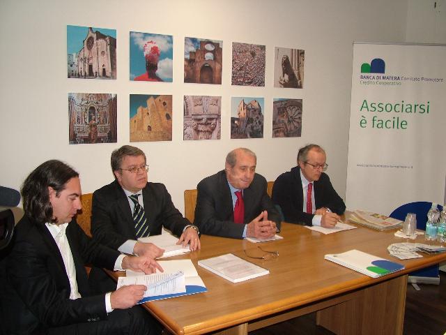 La presentazione della Banca (foto Martemix)